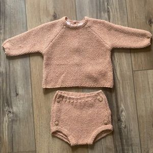 Zara knit set